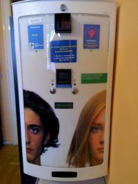 Szociális óvszerautomatáinkat 2004-ben álíltottuk fel