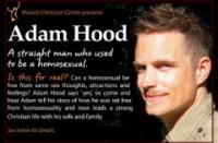 A homofób kurzus reklámplakátja
