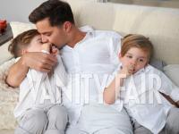 Ricky Martin az egyre nagyobbra cseperedő fiaival