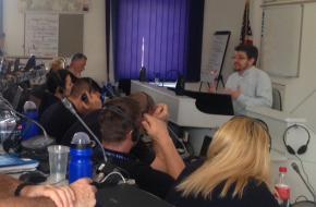 Rendőrképzés az ILEA-n, 2015. július 10.