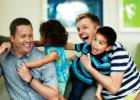 A kétapás család az áruházi katalógusban