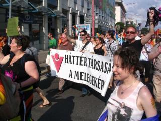 A Háttér is képviseltette magát a pozsonyi Pride-on