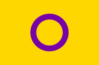 Interszex zászló