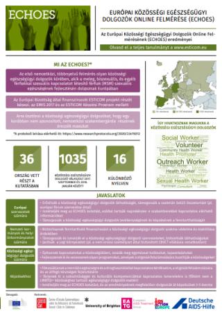 Az európai közösségi egészségügyi dolgozók online felmérése (2020)