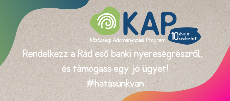 Támogass minket a MagNet Bank Közösségi Adományozási Programjával!