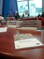 Egyesületünk is részt vett az emberi jogi biztos jelentésének bemutatóján